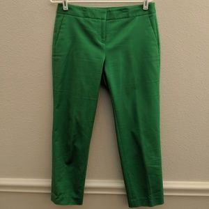 Vince Camuto Pant Capri Cropped Kelly Green 4